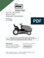 GT5000 Garden Tractor