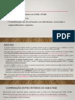Comparacao -Normas Internacionais de Relato Financeiro IASB E FASB.pdf