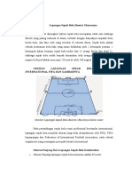 Lapangan Sepak Bola Beserta Ukurannya Dan Keterangannya.docx