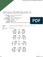 quiz algebra lineal. (8-10)