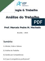 Aula Psi & Trabalho - Análise do Trabalho - UDF.ppt