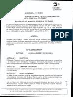 Acuerdo N° 011 de 2016 NUEVO Estatuto Tributario.pdf