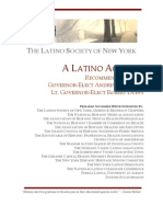 NEWS RELEASE -- Latino Society of New York