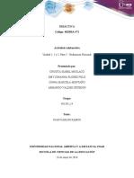 Evaluación nacional Trabajo colaborativo