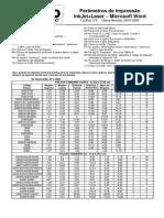 CodFax015_Parametros_de_impressao_inkJet_laser_Microsoft_Word