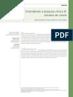 Estudos epidemiológicos - estudos de coorte.pdf