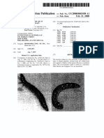 US Patent Application Paralytic Peptide for use in Neuromuscular Therapy (Stewart et al.)