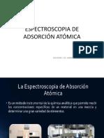 ESPECTROSCOPIA DE ADSORCIÓN ATÓMICA (1)