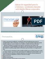 Normas básicas de seguridad para la prevención
