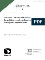 amarica latina y el caribe lectura para portafolio 2 politicas sociales y intervención profesional