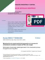 ANÁLISIS DE ARTICULO CIENTÍFICO