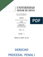 DESARROLO DE PREGUNTAS PROCESAL PENAL