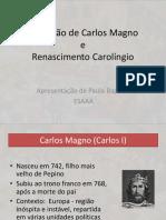 Coroação de Carlos Magno e Renascimento Carolíngio
