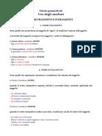 ausiliari & transitivi-intransitivi