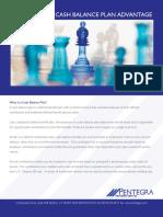 The Pentegra Cash Balance Plan Advantage
