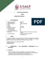 ESTADISTICA 2020-I