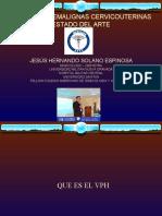 LESIONES PREMALIGNAS DEL CERVIX - ESTADO DEL ARTE
