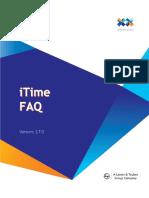 iTime FAQ