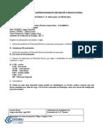 AD1-Luciene O T Lemos-Estágio Supervisionado em Gestão Educacional-atividade de 1 a 10 (Fernanda Santos)