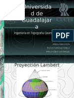 Presentación Proyeccion de Lambert