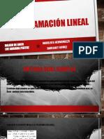 Exposicion de Programacion Lineal