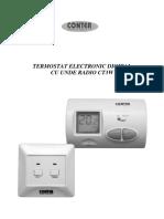 Termostat electronic fara fir (wireless) CONTER CT3W-Manual instructiuni.pdf
