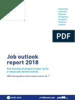 2018 Job Outlook Report Job Street