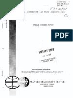Apollo 5 Mission Report