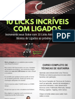 Ebook 10 Licks  com Ligados