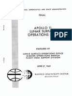 Apollo 11 Lunar Surface Operations Plan