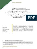 2019-Metodologia participativa...planos de cultura (Rodrigues & Correia)
