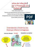 Conceitos de Infecção Hospitalar e Preveção em Pediatria