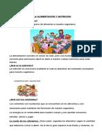 Tema nº 2 alimentacion y nutricion