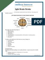 Right Brain Stroke