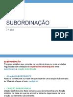 G-Subordinação7