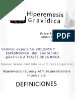 HIPEREMESIS GRAVÍDICA URP