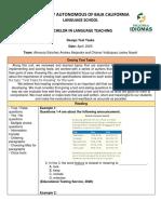 design test tasks project unit 5