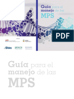 manejo Mucopilisacaridosis (mps) Sanjurjo