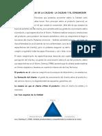 Clase 3 - LAS TRES ESQUINAS DE LA CALIDAD