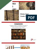 Semana 5 - Evolución Derecho y Derecho arcaico 2