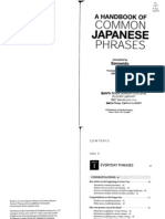 A Handbook of Common Japanese Phrases