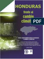 Honduras Frente al Cambio Climatico efca