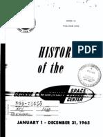 History of the George C. Marshall Space Flight Center, 1 Jan. - 31 Dec. 1965, Volume 1