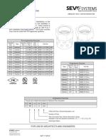 1-SEVO 1230 Technical Data Sheets - nozzles