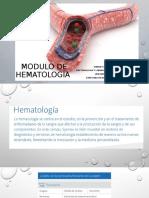 Modulo de hematología
