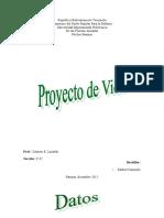 PROYECTO DE VIDAA