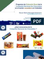 Extensión rural Compañía Nacional de Chocolates. 14-mayo-2020