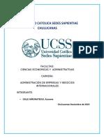 UNIVERSIDAD CATOLICA SEDES SAPIENTIAE