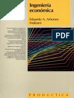 Ingenieria Economica - Arbones Malisani, Eduardo a.;