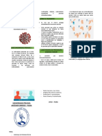 Triptico coranovirus personas comunes